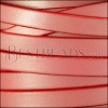 10mm flat leather CANDY SHIMMER RED - meter