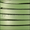10mm flat leather CANDY SHIMMER GREEN - meter