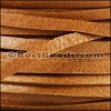 3mm European Deerskin Lace TAN - per 20 meter spool