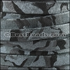 10mm flat CAMO SUEDE leather NAVY - per 1 meter