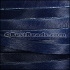 10mm flat HAIR ON leather NAVY BLUE - 1 meter