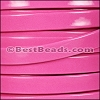 10mm Flat PATENT leather PINK - per 2 meters