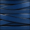 10mm flat leather ELECTRIC BLUE - per 2 meters