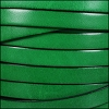 10mm flat leather BRIGHT GREEN - per 20m SPOOL