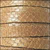 10mm flat EGYPTIAN STYLE leather CAMEL - per 20m SPOOL