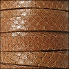10mm flat EGYPTIAN STYLE leather BRANDY - per 20m SPOOL