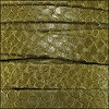 10mm flat EGYPTIAN STYLE leather KHAKI - per 2 meters
