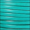 10mm flat ITALIAN DOLCE leather JADE - per 2 meters