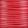5mm flat ITALIAN DOLCE leather WATERMELON - per 5 meters