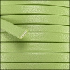5mm flat PREMIER leather KEY LIME - per 5 meters