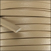 5mm flat PREMIER leather SAND - per 5 meters
