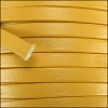 5mm flat PREMIER leather MUSTARD - per 5 meters
