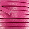5mm flat PREMIER leather MAGENTA - per 5 meters