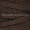 10mm flat SEED BEAD leather BROWN - per 10m SPOOL