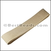 Suede Strips BEIGE-42 inches