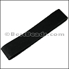 Suede Strips BLACK-42 inches