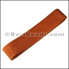 Suede Strips MED. BROWN-42 inches