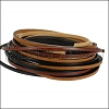 3mm Flat Leather Mixed Bundle NEUTRAL - 5 meters