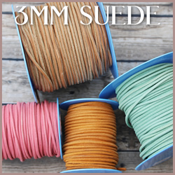 Suede Leather<br>3mm