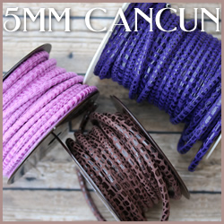 Cancun Leather<br>5mm