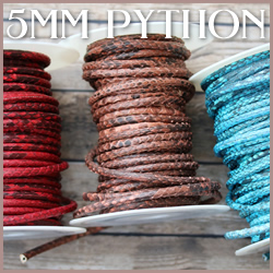 Python Leather<br>5mm