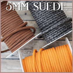 Suede Leather<br>5mm