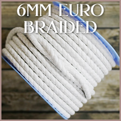 Braided Euro Leather<br>6mm