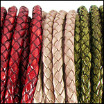 Braided Euro Leather<br>3mm