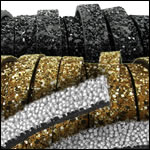 Bling Leather 6mm and 10mm