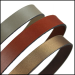 Plain Leather 15mm Strips