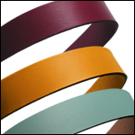 Plain Leather 20mm Strips