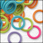 - 10mm O-rings -<br>For 10mm flat leather<br>For 2x 5mm round leather<br>For Regaliz 4.5 Leather