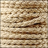 6mm Round Braided Bolo NATURAL - 10m Spool