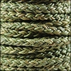 6mm Round Braided Bolo NAT DARK GREEN - 10m Spool