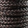 6mm Round Braided Bolo NAT ANT BROWN - 10m Spool