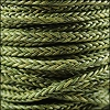 5mm Round Braided Sqaure NAT DARK GREEN - 10m Spool