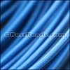 2mm round Greek leather ROYAL BLUE - per 50m COIL