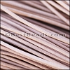 2mm round Greek leather NATURAL - per 50m COIL