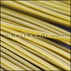 2mm round Greek leather MUSTARD - per 50m COIL