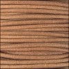 2mm round Indian leather - natural dye - per 25m SPOOL