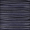 3mm round Indian leather - pacific blue - 25m SPOOL