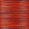 1.5mm round Indian leather - natural orange - per 25m SPOOL