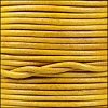 1.5mm round Indian leather - natural mustard - per 25m SPOOL