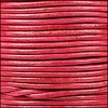 1.5mm round Indian leather - natural cerise - per 25m SPOOL