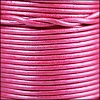 1.5mm round Indian leather - magenta metallic - per 25m SPOOL