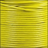 1.5mm round Indian leather - lime yellow - per 25m SPOOL