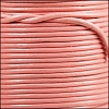 1.5mm round Indian leather - baby pink - per 25m SPOOL
