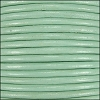 2mm round Indian leather - mint - per 25m SPOOL