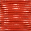 2mm round Indian leather - burnt orange - per 25m SPOOL