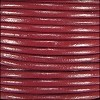 2mm round Indian leather - rust - per 25m SPOOL